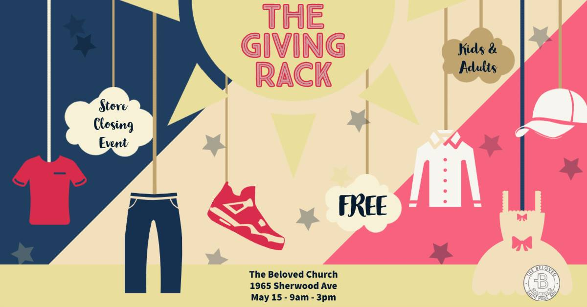 Clothing Giveaway - Giving Rack (God's Closet) Going Out Of Business Event Photo - Click Here to See
