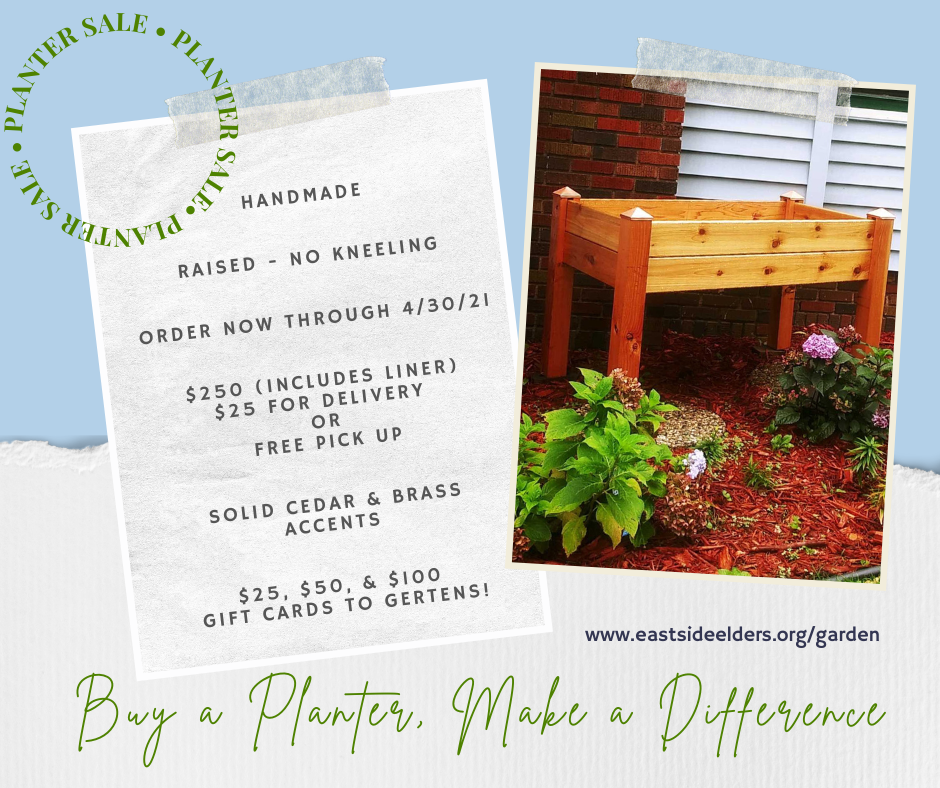 Gardening Fundraiser for East Side Elders Photo - Click Here to See