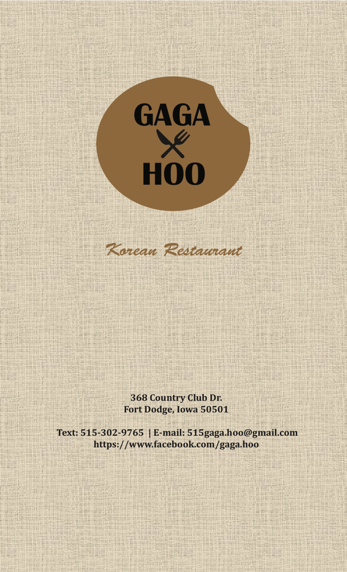 Thumbnail Image For Gaga & Hoo Korean Restuarant - Click Here To See